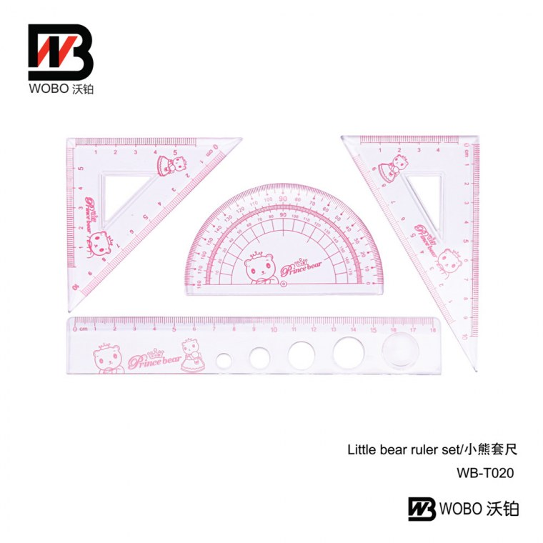 Little bear ruler set