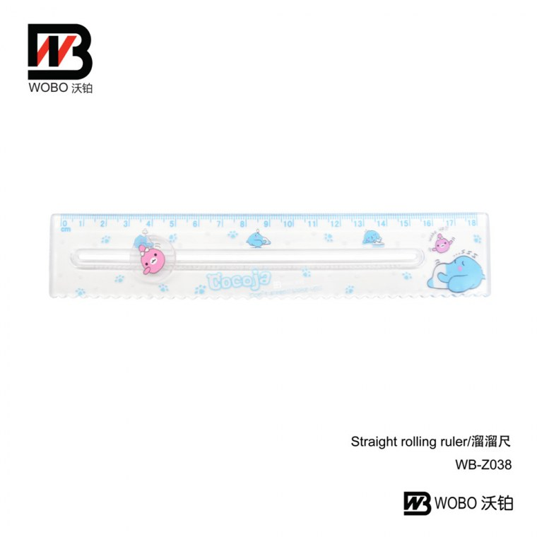 straight rolling ruler